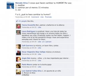 Metodo Silva de Vida Facebook