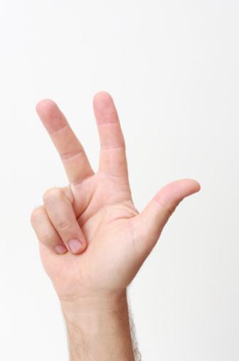 Técnica de los tres dedos