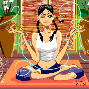 Meditación no es malo que tu mente se disperse